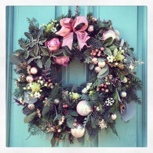 vintage-pink-wreath
