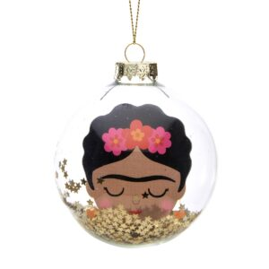 Frida Glitter Bauble